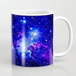 Fox Fur Nebula Galaxy blue purple Coffee Mug