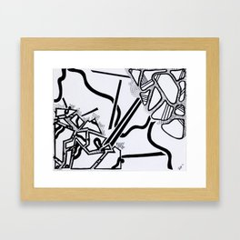"""I have been a multitude of shapes, Before I assumed a consistent form"" - Taliesin Framed Art Print"