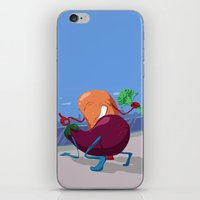erotic iPhone & iPod Skins featuring Erotic Eggplant by Rui Rodrigues