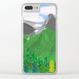 Mount Rundle (South Peaks) Clear iPhone Case