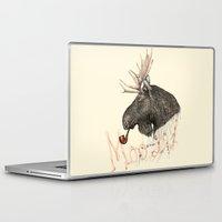 moose Laptop & iPad Skins featuring moose by dogooder