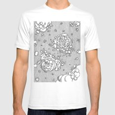 Matter in the Void MEDIUM White Mens Fitted Tee