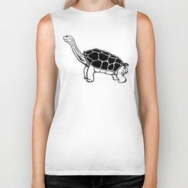 Lonesome George The Last Giant Tortoise Biker Tank