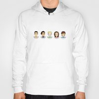 1d Hoodies featuring 1d doodle boys by vulpae