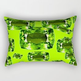 August Babies Birthstone Gems Art Rectangular Pillow