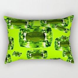 August Babies Birthstone Gems Art Rectangular Pillow