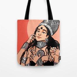Dark Goddess Tote Bag