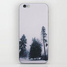 Alone in December iPhone & iPod Skin