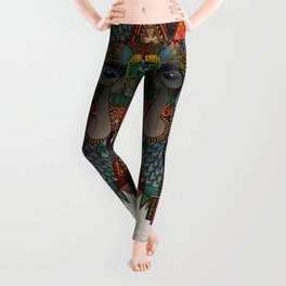 bison bone beige Leggings