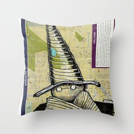 Worcester, Massachusetts Throw Pillow