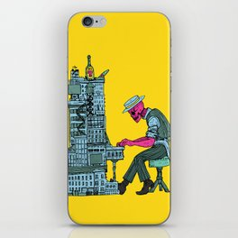 The Undead Pianist iPhone Skin