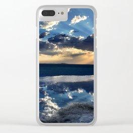 SALT FLATS   UT Clear iPhone Case