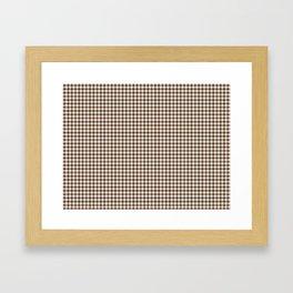 Stewart Tartan Framed Art Print