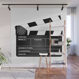 Clapperboard Wall Mural