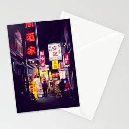 Shinjuku alley 2 Stationery Cards