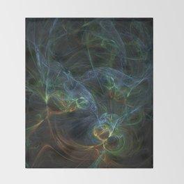 fractal Bunt Throw Blanket