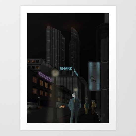 and when the night is coming..... Art Print