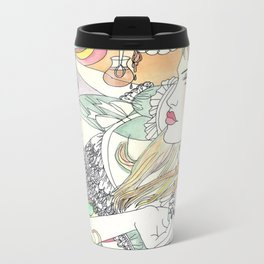 Alice In Wonderland Metal Travel Mug