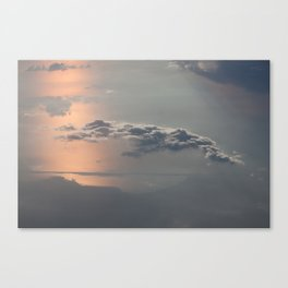 Sailing the Clouds Canvas Print