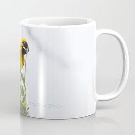 Speke's Weaverbird Building a Nest Coffee Mug