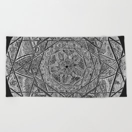 Milkweed Mandala | Lace Edition Beach Towel