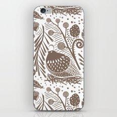 California Quail (Cocoa) iPhone & iPod Skin