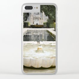 Two Moorish Fountains Clear iPhone Case