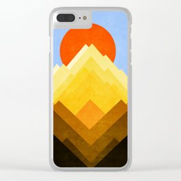 G Mountain Clear iPhone Case