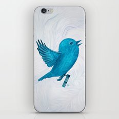 The Original Twitter - Painting iPhone & iPod Skin