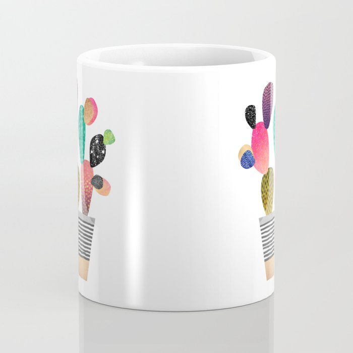 Happy Cactus Coffee Mug