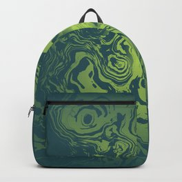 oil spill Backpack