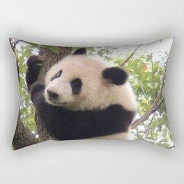 Chongqing Baby Giant Panda | Bébé Panda géant Rectangular Pillow