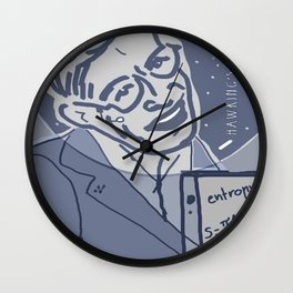 Dear Stephen Hawking / Stay Wild Collection Wall Clock