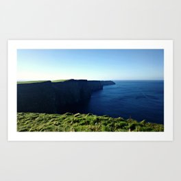 Cliffs of Moher (Simple) Art Print