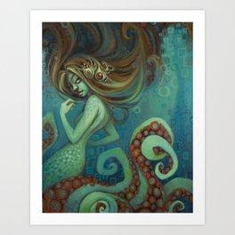Neptune's Daughter Art Print