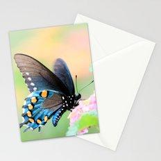 Spicebush Swallowtail Butterfly on Lantana Stationery Cards