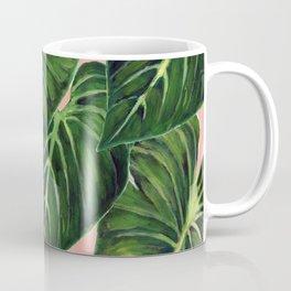 Tropical II Coral Coffee Mug