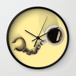 Coffee Shackles Wall Clock