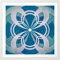 infinity Art Prints featuring Infinity by Enrico Guarnieri 'Ico-dY'