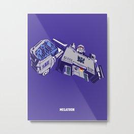 Transformers - Megatron Metal Print