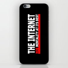 THE INTERNET - MOB MENTALITY AT ITS BEST iPhone & iPod Skin