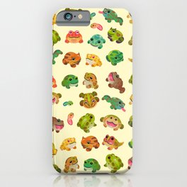Horned frog - bright iPhone Case