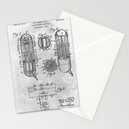 Unidirectional microphone Stationery Cards