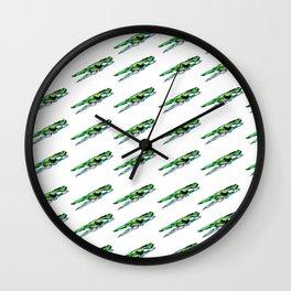 Clothespin Wall Clock