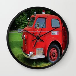 Put-in-Bay Volunteer Fire Dept II Wall Clock