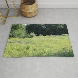A Field of Wild Flowers Rug