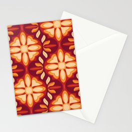 Swiss Chalet - Mulled Wine (pattern) Stationery Cards