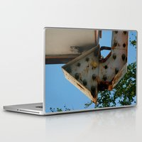 arrow Laptop & iPad Skins featuring Arrow by Ink and Paint Studio