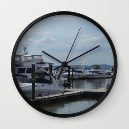 The Harbor Wall Clock