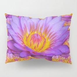 Nymphaea violacea - Amazonian Flower Pillow Sham